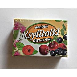 Ksylitolki drażetki owocowe...